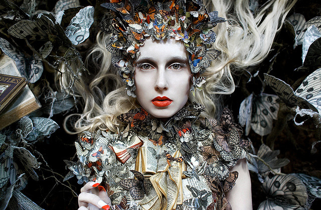 "Wonderland ""The Ghost Swift"" by Kirsty Mitchell."