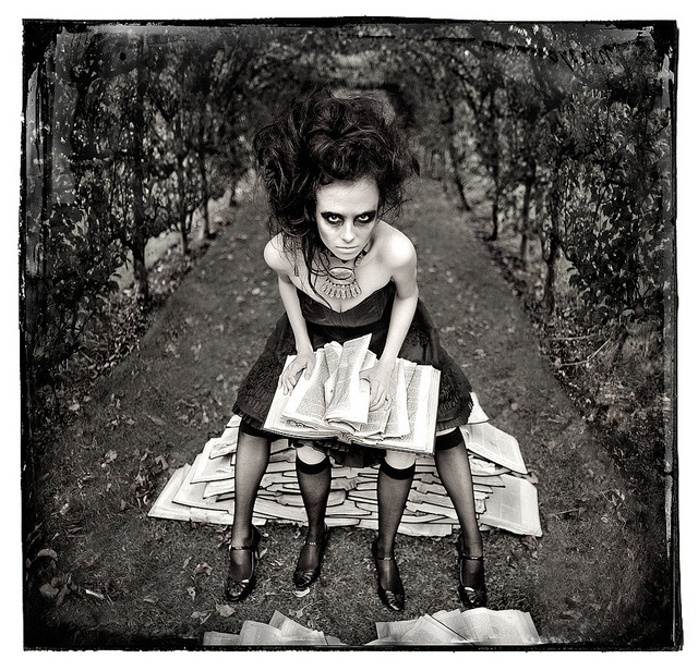 "Wonderland ""A Twist In The Tale"" by Kirsty Mitchell."