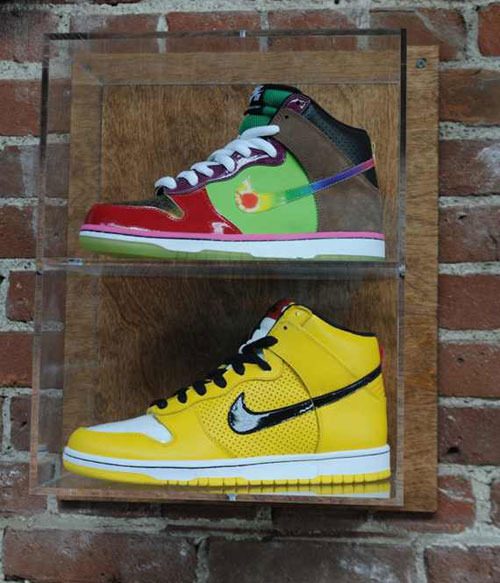 "Nike SB Dunk High ""What The Dunk"" – First LookThe classic Nike ""What the Dunk"" colorway inspired a few current Nike models from the LeBron, Kobe, and even the KD lineup. It's looks like the What the Dunk will finally make it back to the Dunk model; but it'll now use the high version. This Nike SB Dunk High took inspiration from various SB Dunk High colorways. It's not confirmed whether or not these will ever release, so be sure to stay tuned to TSG for the latest updates."