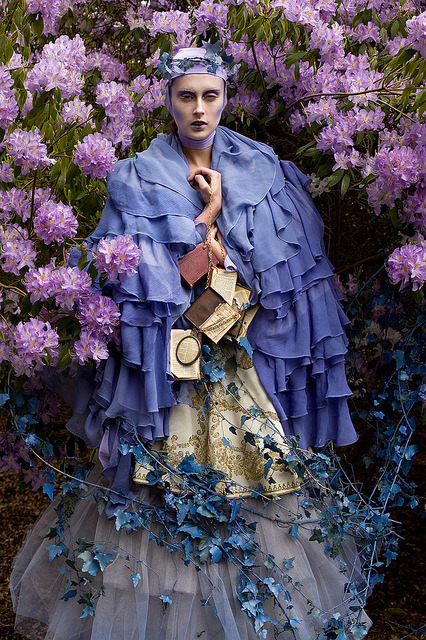 Wonderland : The Blue Saint by Kirsty Mitchell.