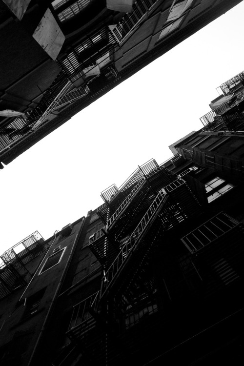 terrysdiary:  Fire escapes.