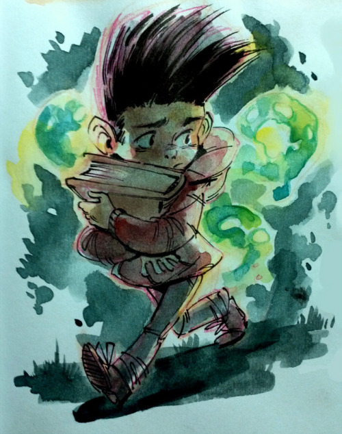 nujuoyera:  still adjusting to watercolors, here's a late paranorman fanart
