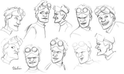 Studies of Neil Patrick Harris' very animated acting