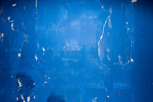 Detail of Blue wall.