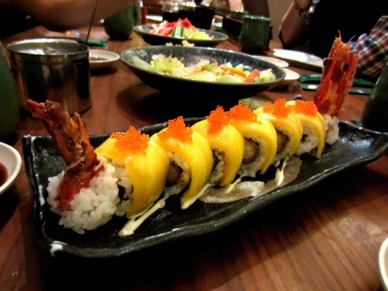 Golden Roll (Mango Prawn Sushi), Sushi Tei