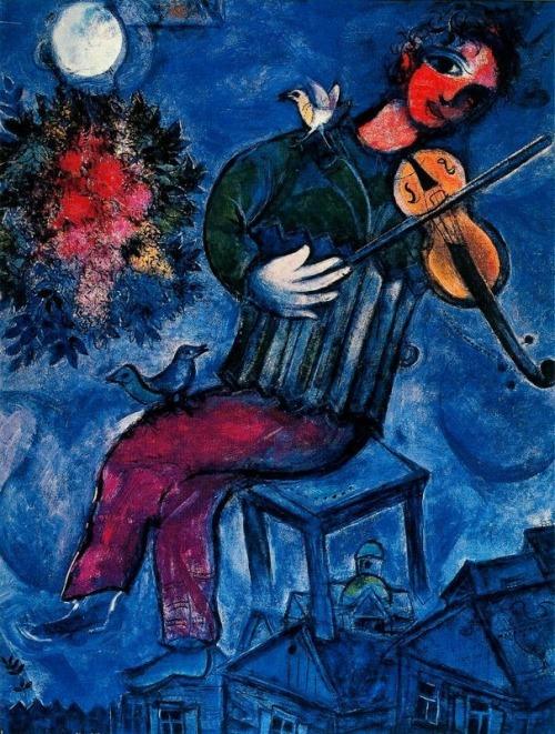 Marc Chagall, Le Violoniste Bleu
