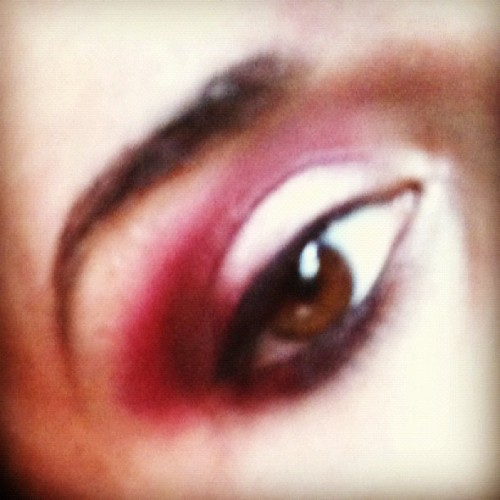 #eotd Obsessed with #tomford Plum absolute for eyes #makeup after funding out the perfect way to apply it. #oxblood on everything! #eyes #red #cosmetics #fashion #light #brown