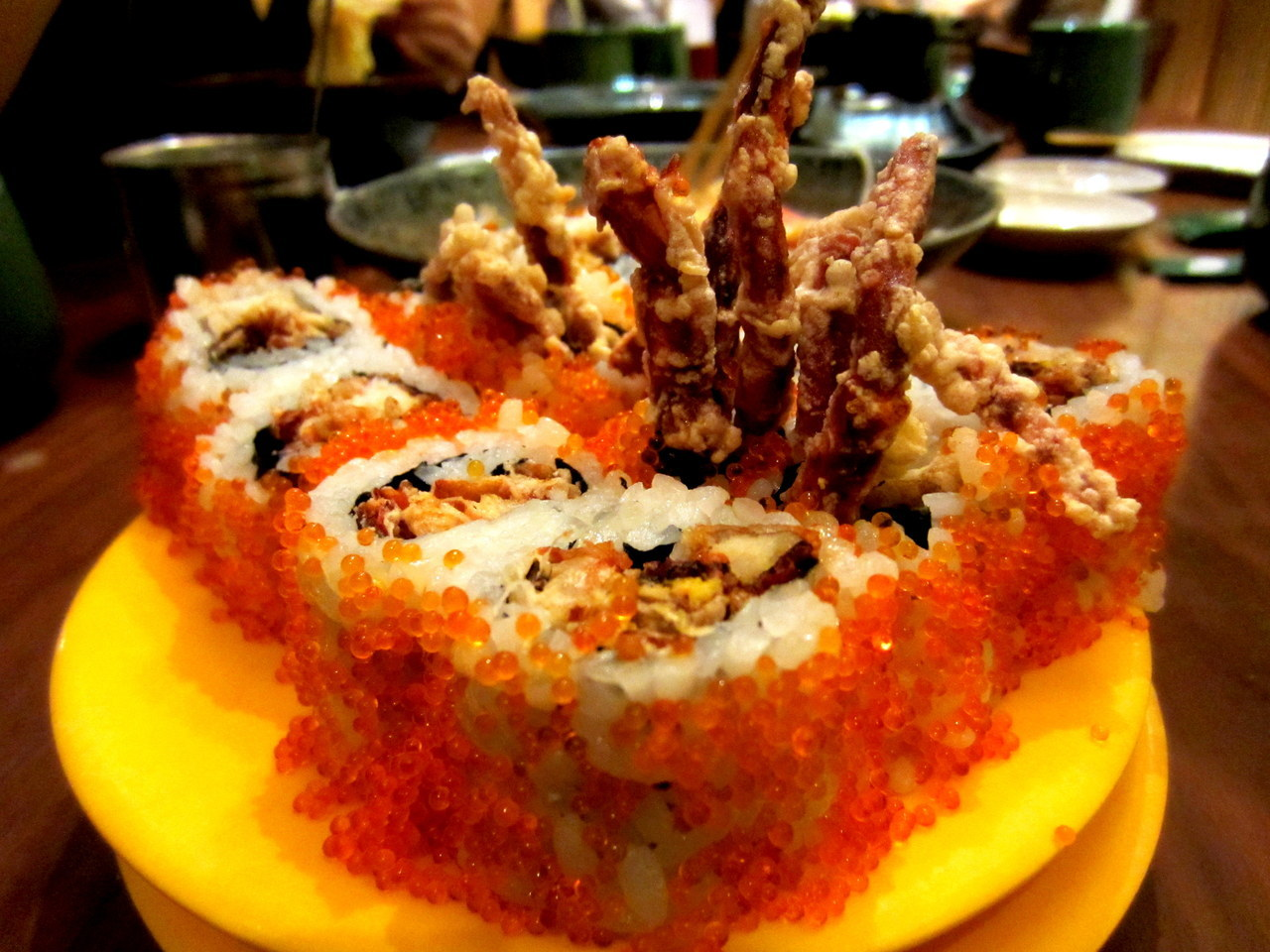 Soft Shell Crab Sushi (to die for)