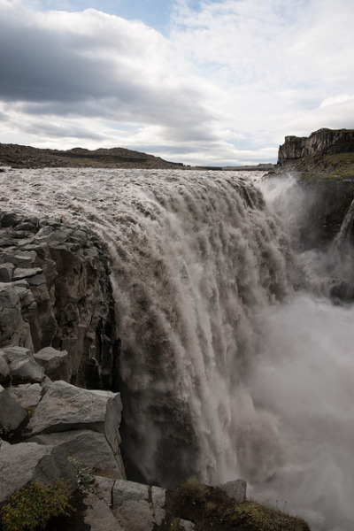 visitheworld:  Reputed to be the most powerful waterfall in Europe, Dettifoss, Iceland (by marc.alhadeff).