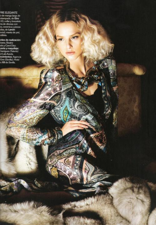 lovelostfashionfound:  Michaela Kocianova - Vogue Espana May 2010