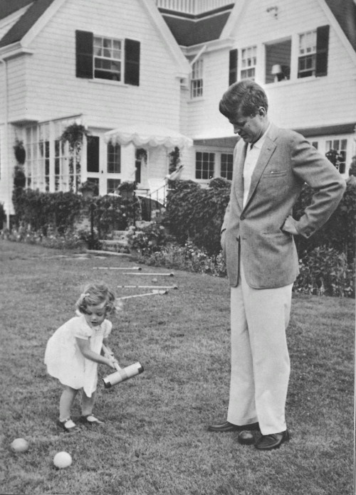 Croquet with the Kennedys