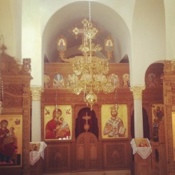 Have you ever been to a Greek Orthodox monastery? This one is awesome!! (at Florence, AZ)