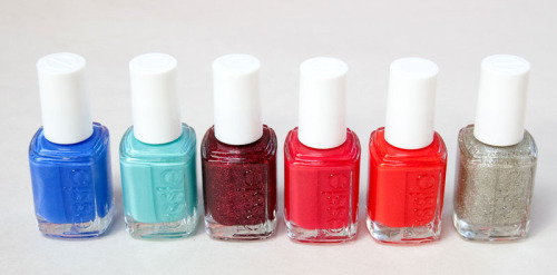 Lovin' the new Essie Winter Collection - Which colors do you guys want to try?