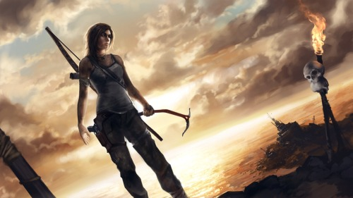 forevertombraider:   Tomb Raider by Eric Persson  Standing in the horizon.
