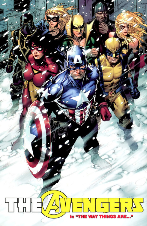 New Avengers by Jim Cheung