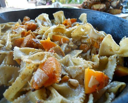 Recipe: Butternut Squash PastaA lip-smackingly good combo of winter produce and Mediterranean ingredients.