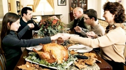 "10 Things You Can Do to Spoil Your Family's Thanksgiving 1. Bring a homeless man you met at the bus stop and tell your family he's the best chef you've ever met and he needs to massage the turkey before anyone eats it. 5. Constantly ask your mother when she stopped loving you. 8. Show up with your new girlfriend, who you constantly refer to as ""mother."" Read all the ways to make this Thanksgiving the worst here!"