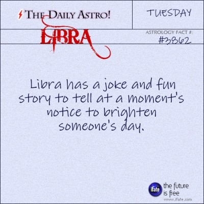Libra 3862: Visit The Daily Astro for more Libra facts.Click here for a free tarot reading :)