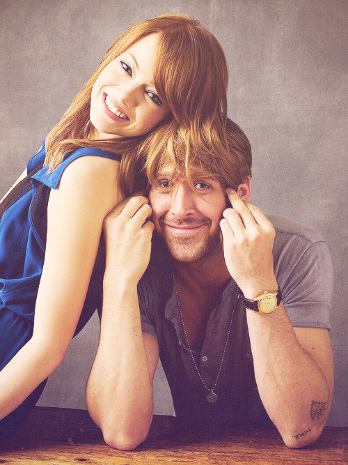 accesspopculture:  Emma Stone and Ryan Gosling