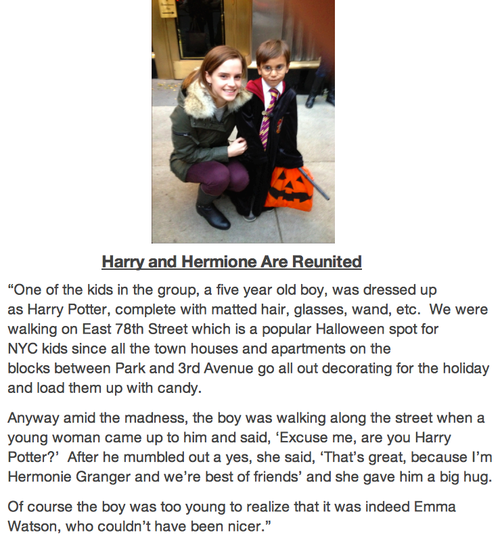 Hermione and Harry reunited ;o;