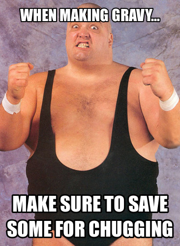 Memes: King Kong Bundy Cooks Your Thanksgiving Dinner