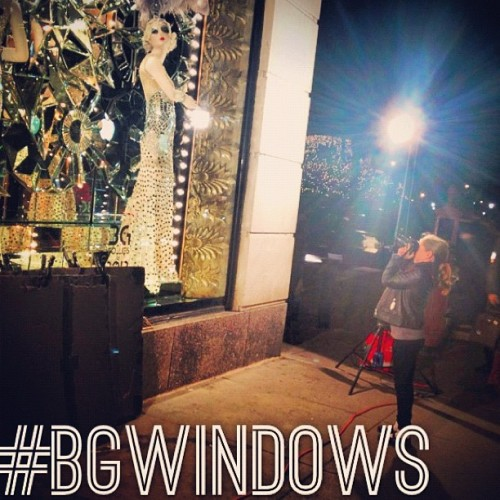 Our windows are up & we love how you Instagram them. Tag your BG Holiday windows pictures with #bgwindows for a chance to win a windows prop or print from @thecoveteur ! Get more details on 5th/58th