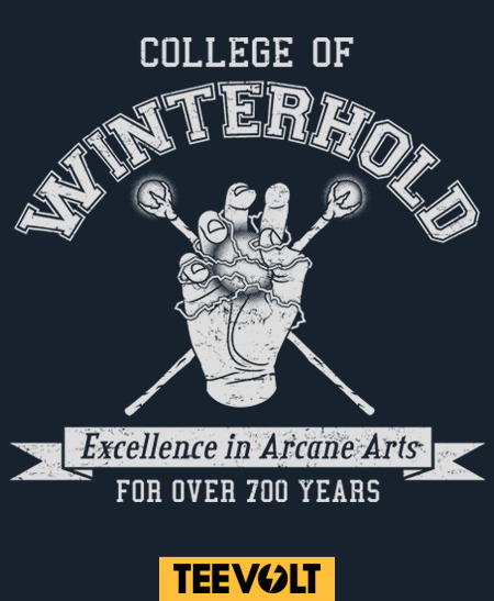 College Of Winterhold - by adho1982  Now on Sale at Teevolt