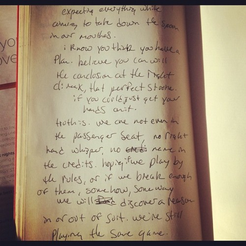 #pov #journal #insideoutside  (at Sunrise Coffee)