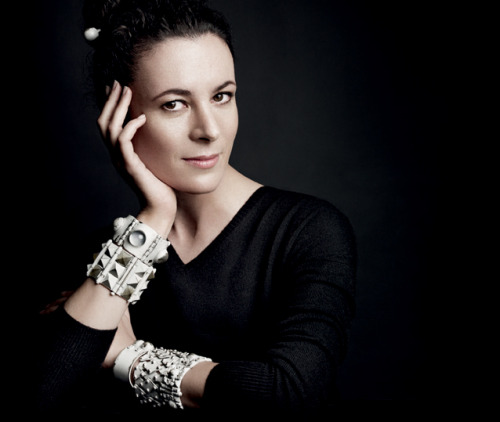 Garance Dore in Bottega Veneta's new jewelry campaign.