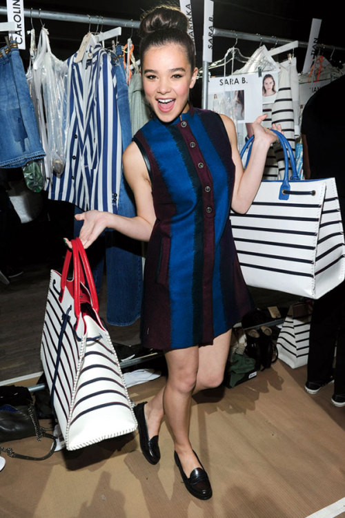 Plus one! Hailee Steinfeld takes Fashion Week by storm with Teen Vogue's Andrew Bevan. Follow their stylish adventure here »