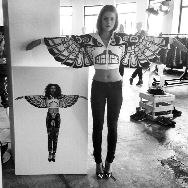 titrea:  youthattackmob:  Isabelle Cornish in Adidas '13  she is so amazing
