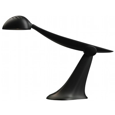 Little Footprint Lighting Heron LED task lamp.  Made from recycled ewaste. 5-10X more efficient than incadescent lighting, with a bulb that will last up to 15 years. Designed and manufactured in California.