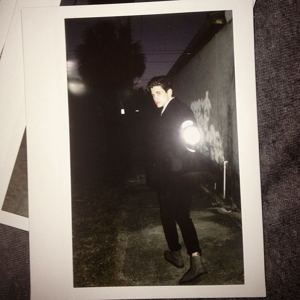 @_spaceman_ another #instax210 of him from Saturday. #male #model #sooc #agency #lifestyle