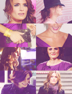 cornished:  stana katic + purple |