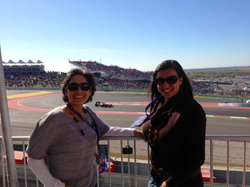 We were thrilled to be a part of the inaugural Formula 1 Grand Prix race that took place in Austin on Nov. 18. We were especially thrilled to enjoy the view from one of the suites! :)