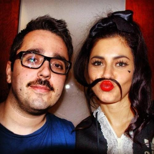 @MarinasDiamonds my @MovemberIreland sista! #marinaandthediamonds
