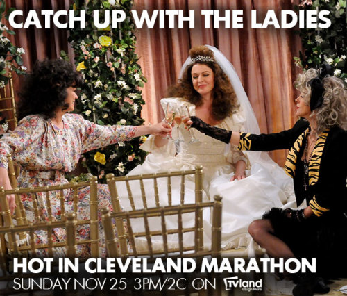 Don't miss your chance to catch up with the ladies! A marathon of the best episodes starts tomorrow at 3PM/2C only on TV Land.