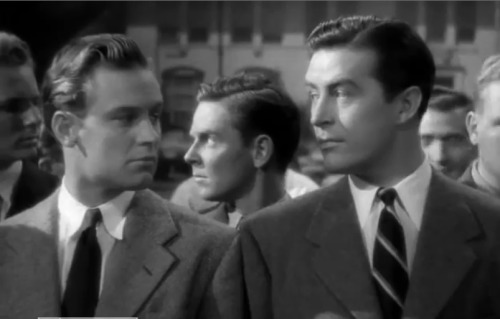 William Holden and Ray Milland in I Wanted Wings (Mitchell Leisen, 1941) via williambeedleholden