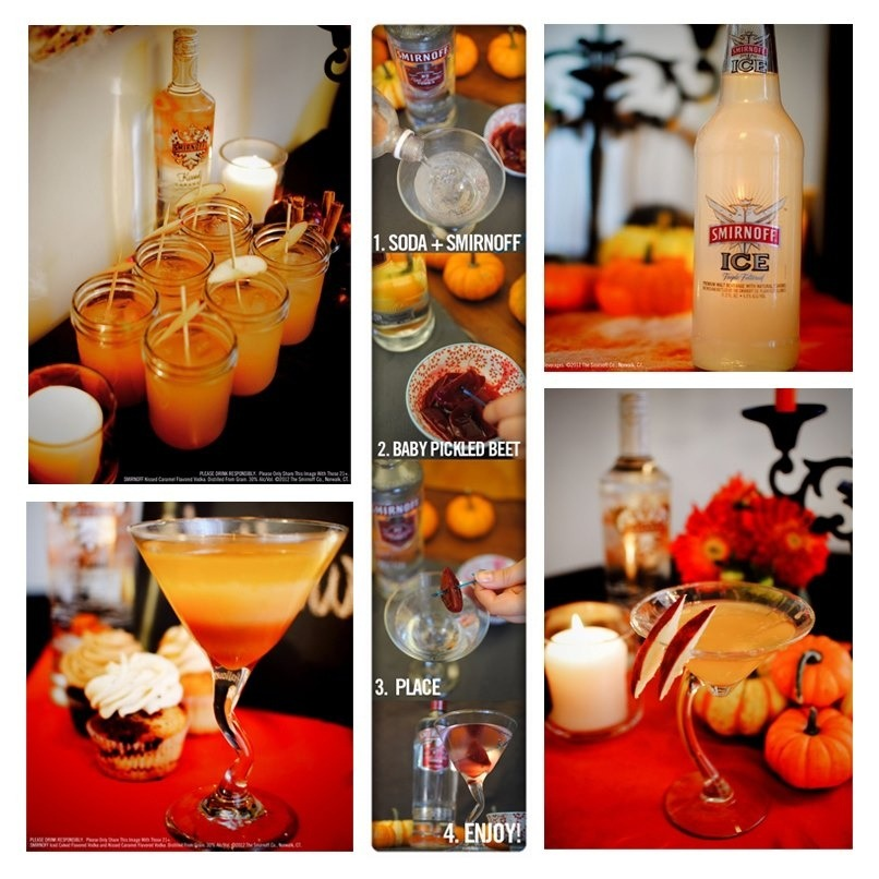 Have you tasted the flavors of fall? Follow us on Pinterest for drink ideas, DIY fall crafts and party inspirations! http://pinterest.com/smirnoffus/