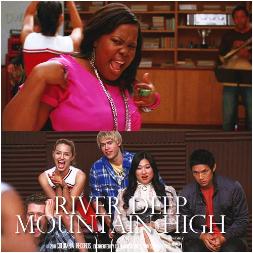 2x04 Duets | River Deep Mountain High Alternative Cover 'Lovely Samcedes Series'