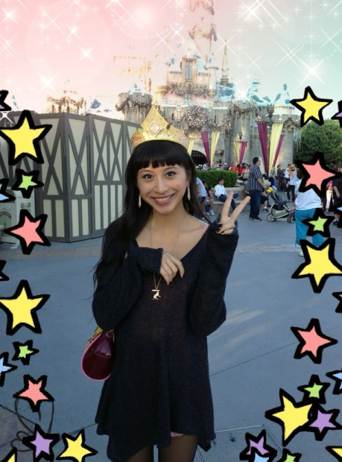 Hello from Disneyland!