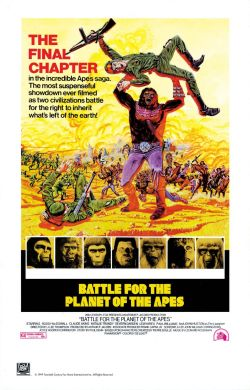 Movies I've Seen in 2012 200.  Battle for the Planet of the Apes (1973) Starring:  Roddy McDowall, Claude Akins, Natalie Trundy  Director:  J. Lee Thompson Rating:  ★★★/5