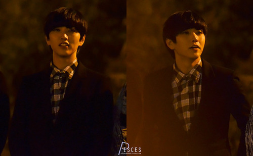 bethe1all4one:  121118 Inkigayo fanmeet [© pisces]Do not edit.