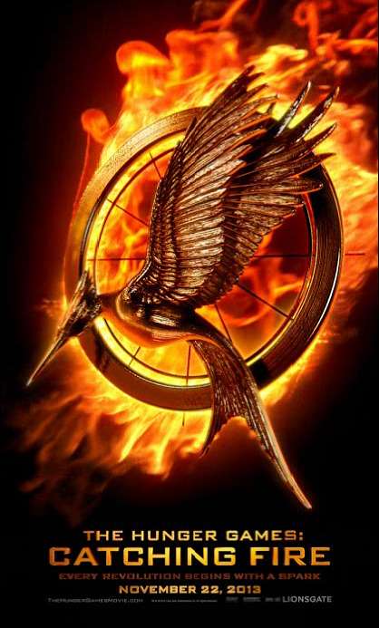 my-hunger-games:  Catching Fire Movie Poster