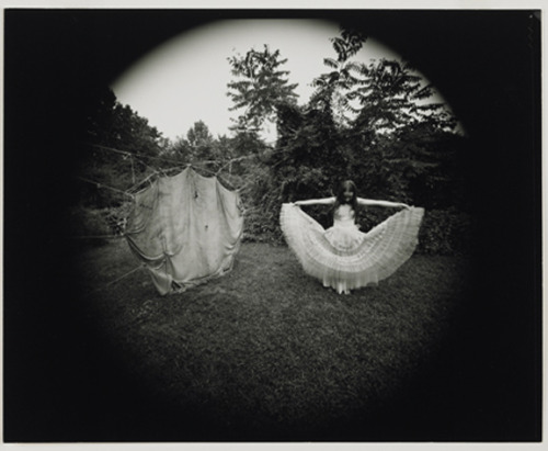 Nancy, Twine and Cloth Construction by Emmet Gowin, 1971