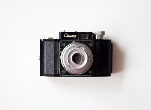 Vintage Smena Camera via CuteOldThings