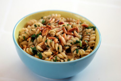 Pine Nuts, Parsley, Pasta by omefrans on Flickr.