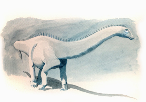 Apatosaurus value study by ~pheaston