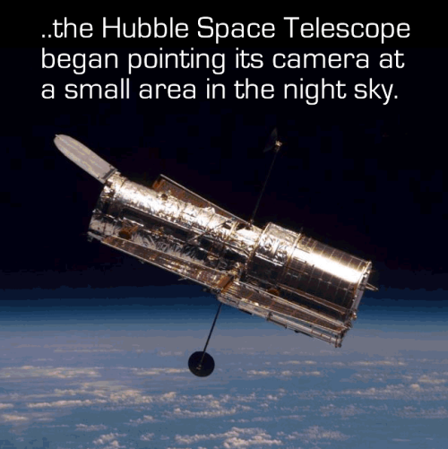 goobot:  rolalstrider:  maxistentialist:  More about the Hubble Ultra-Deep Field.    and yet some people still dont think there's life on other planets