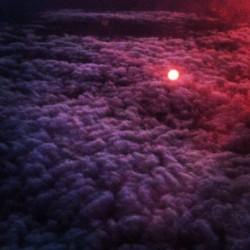 Everything looks beautiful from space. #clouds #sun #instagood #igdaily #sky #plane